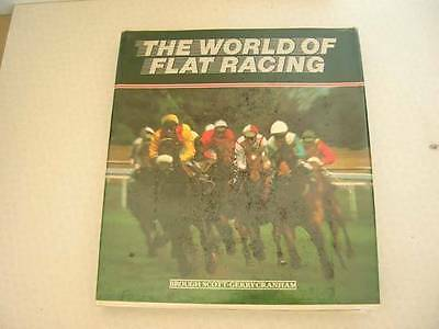 Vintage The World Of Flat Racing Book, C1983
