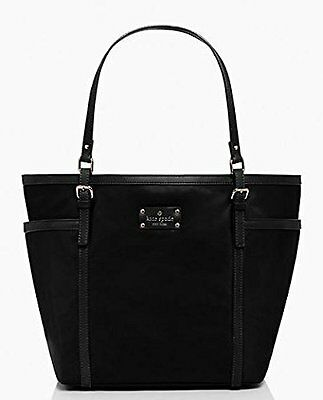 KATE SPADE NEW YORK Union Square Clementine Tote Black Baby Bag WKRU2574