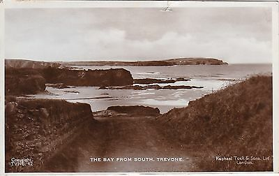 The Bay From South, TREVONE, Cornwall RP