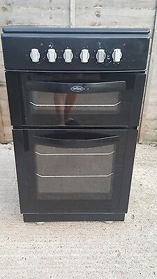 Belling FSEC50FDOB electric cooker