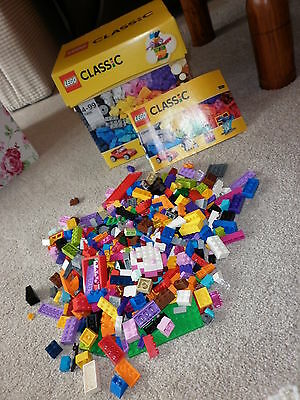 Job Lot Of Childrens Lego In Box