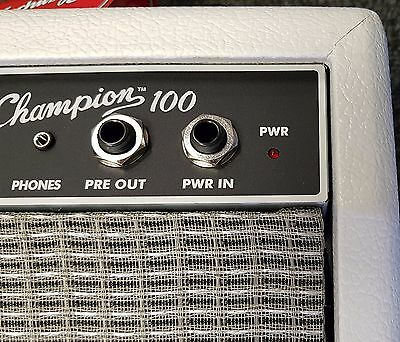 Fender Champion 100 Limited Edition Guitar Combo Amp, Snow White EX-DEMO