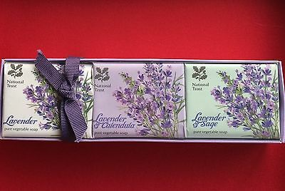 Gift Box Of 3x 100g Lavender Soap