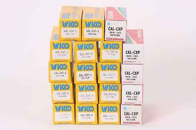 Lot Of  (19) CAL CXP 300w 120v Projector Lamp Bulbs Sylvania WIKO