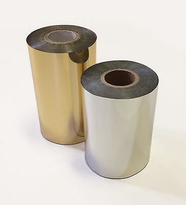 Gold / Silver Foil suitable for Hot Foil Printing / Stamping and More