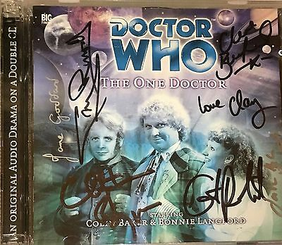 Doctor Who - The One Doctor - Audio CD - 7 Signatures - Hand Signed [CH]