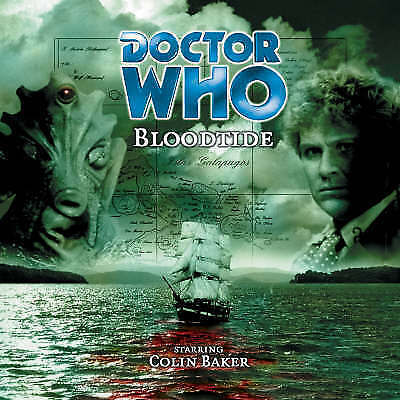 Doctor Who - Bloodtide - Audio CD - Hand Signed By Colin Baker + 2 More  [CH]