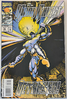 Marc Spector: Moon Knight #56 (1993) Stephen Platt, NM range.