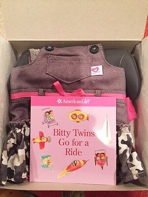 American Girl Bitty Baby Twins Camo Jumper Outfit RETIRED **NIB**