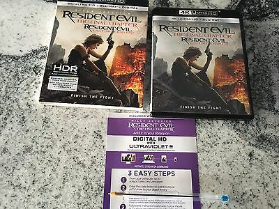 Resident Evil The Final Chapter HD Digital Code Only