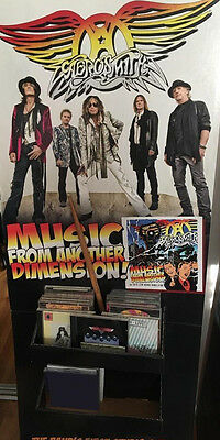 Aerosmith Music From Another Dimension Promo Store Stand Up CD Display