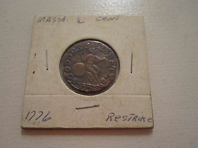 1776  1/2 cent US COLONIAL COIN TOKEN RESTRIKE