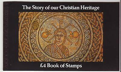 Great Britain Prestige Booklets £4 Christian Heritage Royal Mint Pristine