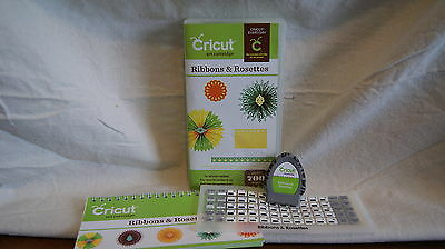 Cricut Cartridge - RIBBONS & ROSETTES - Gently Used - Complete!  NOT LINKED