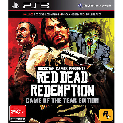 Red Dead Redemption: Game of the Year Edition - PlayStation 3 - BRAND NEW