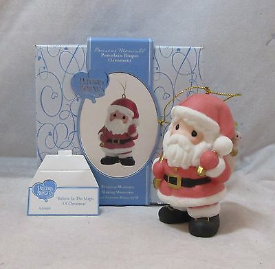Santa | Believe in the Magic of Christmas 910063 Precious Moments Ornament 2008