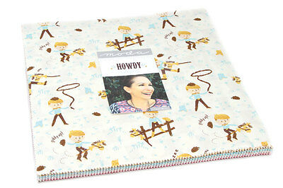Patchwork/quilting Fabric Moda Howdy Layer Cake