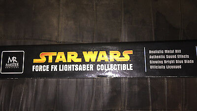 Star Wars Master Replicas Force FX Luke Skywalker Lightsaber Replica 2005 SEALED