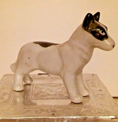 Staffordshire Bull Terrier Porcelain Figurine Japan