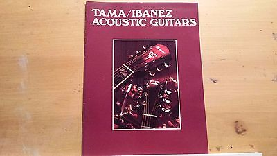 Ibanez catalog, poster 1978 1980 1986. VG Cond!