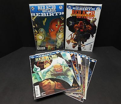 DC Comics REDHOOD & The OUTLAWS Rebirth Set/Lot/Run 1 1 2 3 4 5 6 7 8 9 10 11