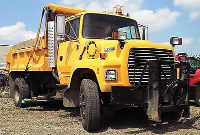 Genuine Ford L8000 Dump / Plow / Salter Truck / Belly Blade
