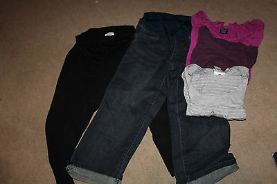 Motherhood Maternity Lot jeans top Size large