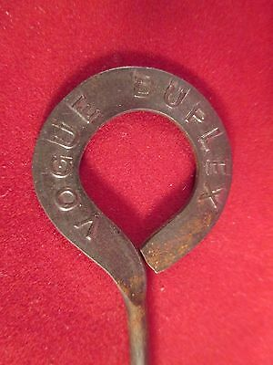 Antique Shoe Advertising Vogue Duplex Button Hook Salesman's Tool