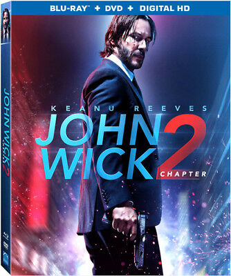John Wick: Chapter 2 [New Blu-ray] With DVD, UV/HD Digital Copy, Widescreen, 2