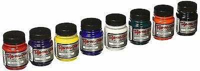 Jacquard Products JAC8000 Dye-NA-Flow Liquid Color 8 Pack, 2.25 oz, Primary,
