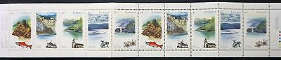 CANADA  SC# 1489b  CANADIAN RIVERS 1993 complete BOOKLET w/10 stamps MINT MNH