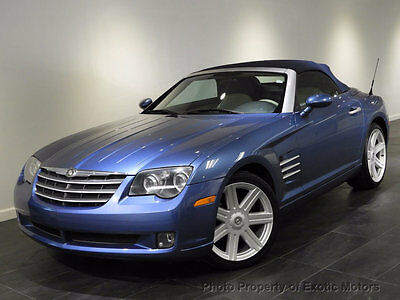 2006 Chrysler Crossfire 2dr Roadster Limited 2006 CHRYSLER CROSSFIRE LIMITED CONVERTIBLE 6-SPEED HEATED-SEATS SOFT-TOP ALLOYS