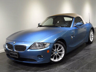 2005 BMW Z4 Roadster 2.5i 2005 BMW Z4 2.5i CONVERTIBLE 5-SPEED PREMIUM/SPORT-PKG HEATED-STS XENON MSRP$43k