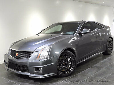 2011 Cadillac CTS 2dr Coupe 2011 CADILLAC CTS-V SUPERCHARGED NAV REAR-CAMERA HEATED-STS XENON 556HP PDC BOSE