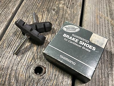 Shimano Brake Shoes for Cantilever Brake  Non-Threaded Post NOS NIB