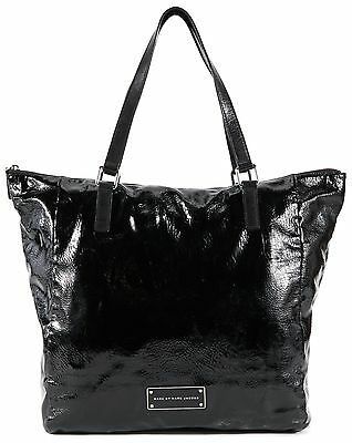 MARC BY MARC JACOBS Authentic Black Patent Leather Tote Shoulder Bag