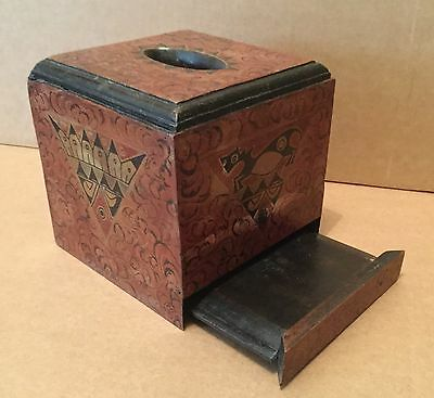 Antique South East Asian Tissue Box