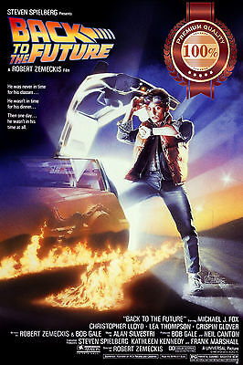 New Back To The Future 1 One Official Movie Original Art Print Premium Poster