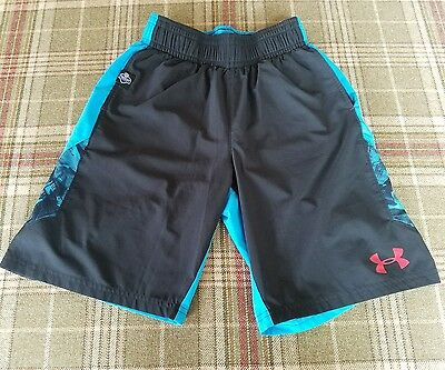 Boy's Under Armour NFL Combine Shorts Youth Medium-GUC