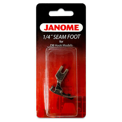 Janome Quarter Inch Seam Foot - for 1600P 1600 P PLE QC DB DBX, DB Hook Quilting