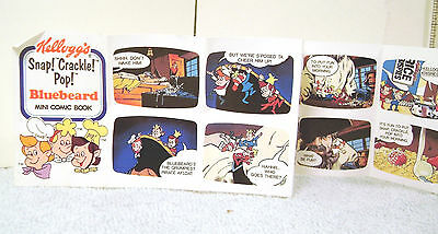 Kelloggs Cereal Premium  SNAP CRACKLE & POP Bluebeard Mini Comic Book