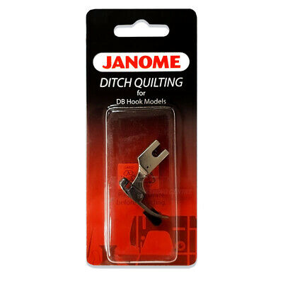Janome Ditch Quilting Foot - for 1600P 1600 P PLE QC DB DBX, DB Hook Stitch In