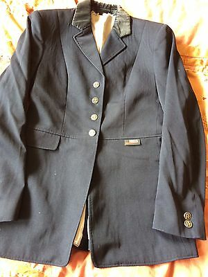 Navy Blue Horka Show Jacket