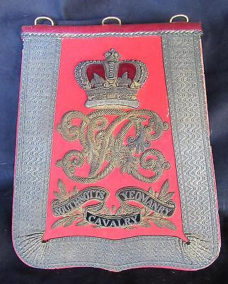 South Notts Yeomanry Cavalry Officer's Sabretache
