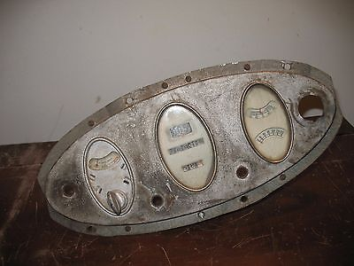 VINTAGE CHEVY CAR & TRUCK GAUGES DASH CLUSTER ( EARLY 1900's )