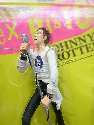 "Johnny Rotten Sex Pistols Medicom Ultra Detail Figure 6"" Pvc Toy New John Lydon"