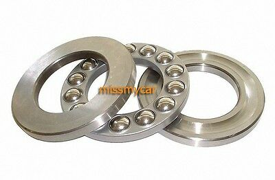 10pcs Axial Ball Thrust Bearing 51105 25mm x 42mm x 11mm
