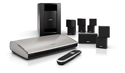 Bose Lifestyle T20 5.1 Channel Home Theater System - Immaculate + 4 Bose Stands