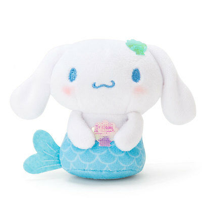 Cinnamoroll Hand Riding mini Doll mascot (Mermaid) Sanrio Kawaii Cute F/S NEW