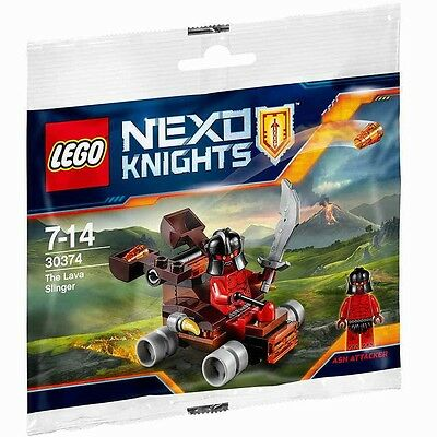 ☀️ New Lego Nexo Knights 30374 The Lava Slinger   40pcs in Sealed Polybag ✅✅✅